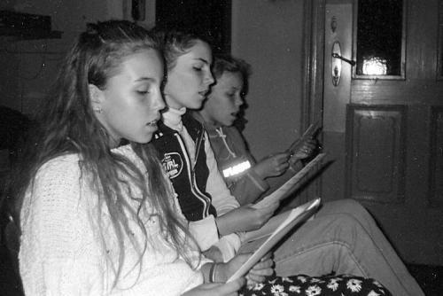 Zkouška před dětskou 5.5.1999